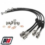 Subaru Stainless Brake Line Kit Front And Rear Impreza 01-07 By Racinglines